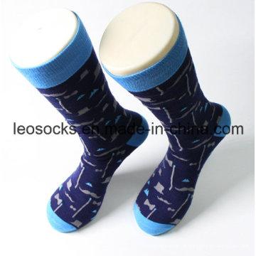 Entwerfen Sie Ihre eigenen 100% Cotton Mens Socken