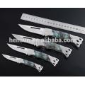 Resin Imitation Pearl Stainless Steel Pocket Knife