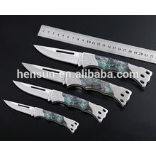 Resin Imitation Pearl Stainless Steel Pocket Knife