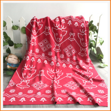 2017 Knit Pattern Thow knitted Blanket for Baby or Children