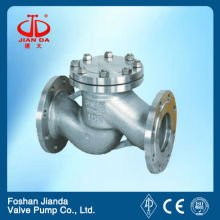 4'' JIS 10k RF flange cast iron check valve