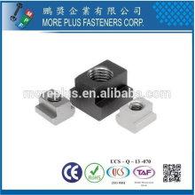 Taiwan Stainless Steel 18-8 Copper Brass Aluminium Muttern T-Nuten T-Slot Nuts Métrique M6 DIN 508