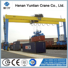 45tons tender project Rubber Tyre type RTG gantry cranes