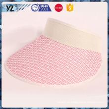 Venta al por mayor nueva y caliente del sombrero del casquillo del visera del sol de la calidad del OEM