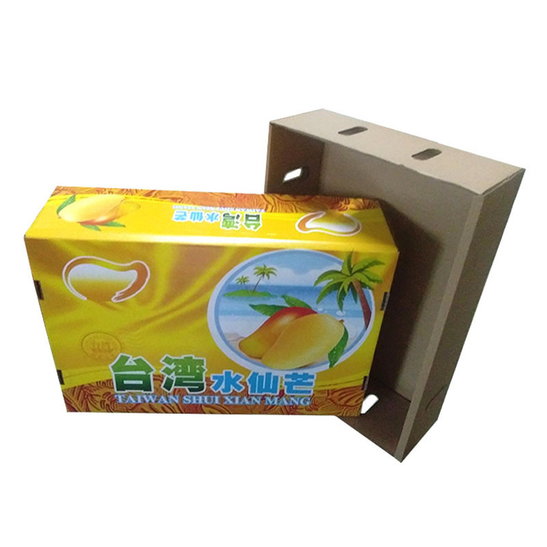 The Fruit Color Carton