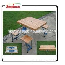 Mesa de picnic plegable portátil y silla Mesa de camping y silla