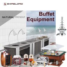 Hotel de lujo Buffet de suministros / equipo de buffet