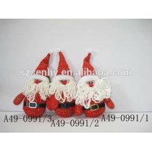 Artículos decorativos Santa Claus de Navidad