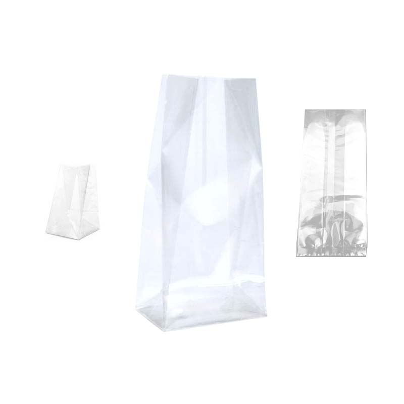 PE Flat Bottom Plastic Bag
