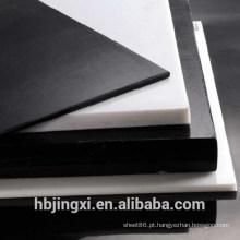 Folha / haste plásticas pretas brancas da isolação POM
