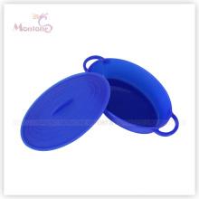 Lancheira de silicone de grau alimentício de Rould Folding
