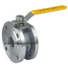 Válvula de esfera Flange industrial