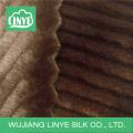 stripe acrylic faux fur fabric, throw blankets fabric, home decor fabric