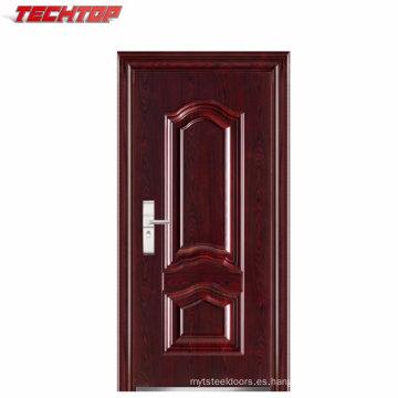 TPS-039 Good Quality Finish Safety Puertas y ventanas de acero inoxidable
