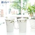 floral leaf white elegance dinnerware sets porcelain Chinese dinnerset