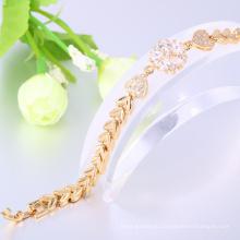 костюм ювелирных изделий золото 24k браслет для женщин