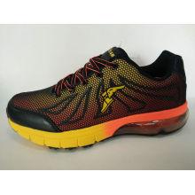 Herren Leder Schuhe Jogging Schuhe
