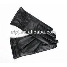 Qualität Mode Elegent Frauen lange Leder Handschuhe