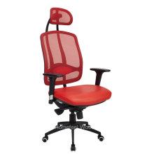 Chaise de bureau moderne moderne à dossier haute direction (HF-CH001A)