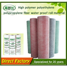 Polyethylene Polypropylene Polymer Waterproofing Membrane for Building