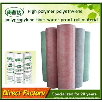 Membrana Waterproofing do polímero do Polypropylene do polietileno para construir