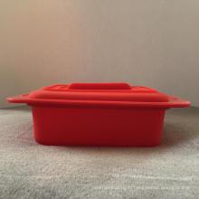 Boîte de rangement pour cuiseur vapeur en silicone de qualité alimentaire