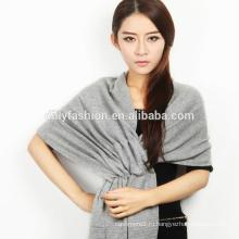 Новый дизайн дамы длинная зима трикотажный кашемировый платок и шарф 2016