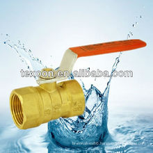 standard port 400 WOG brass ball valves(female thread) Korea