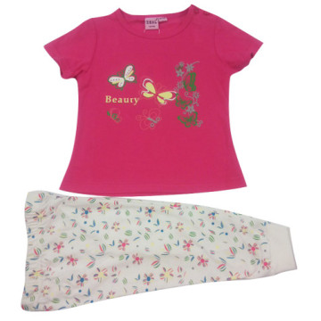 Juego de niños de verano niña para niños ropa