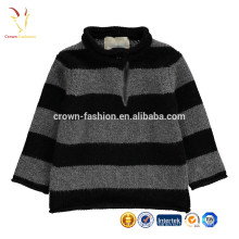 New Style Fashion 100% Cashmere Stripes Winter Baby Sweater