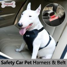 Arnês novo do cão da segurança de Deluxe On Sale com cinto de segurança