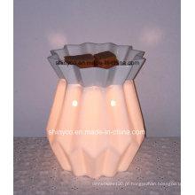 Aquecedor elétrico translúcido da lâmpada da fragrância com temporizador
