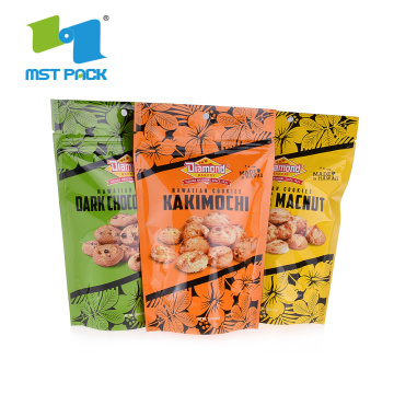Makanan Gred Biodegradable Ziplock Package Clear Plastic Bag