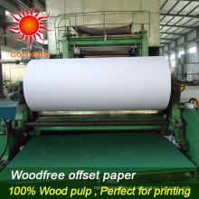 Uncoated Wood Free Offset Printing Paper