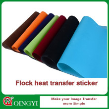 Flock-Wärmeübertragungspapier für Textilien