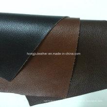 Cuero de tapicería flocado para el cojín del sofá (Hongjiu-801 #)