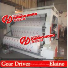 6 tipos de pila de colores Flex y Banner Printing Machine