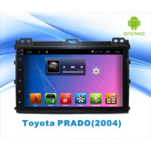 Auto DVD-Player mit Bluetooth / WiFi / GPS / Kapazitiver Bildschirm für Toyota Prado Android 5.1 System