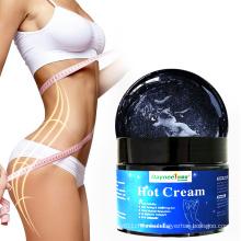 Best cellulite sweat gel hot cream waist belly weight loss private label slimming body fat burning cream gel