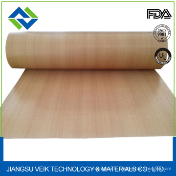 Ptfe teflon coated fiberglass fabric for baking of fresh pastry and pizza