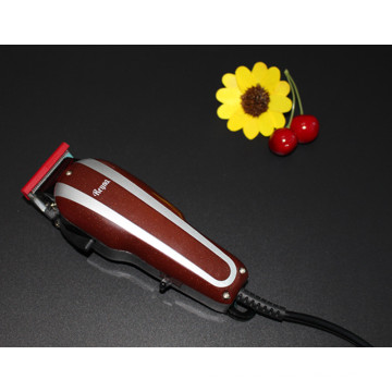 Pelo eléctrico en máquina cortapelos corte cubierta de pelo