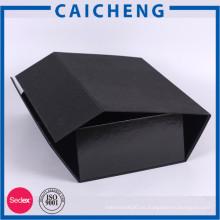 Caja de papel plegable del imán de encargo al por mayor de alta calidad