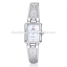 Beautiful Simple Quartz Hollow Alloy Wrist Watch For Women SOXY014