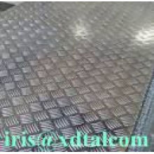 aluminum checkered plates five bar 3003, 3004, 3005, 3015, 5052, 5754, 6061, 5083,6063,8011 for Gangways, walkway