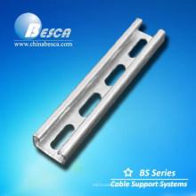 De boa qualidade Suporte perfurado do suporte do canal do suporte Uni fabricante