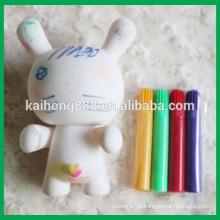 Marcador lavável para desenho em brinquedos de plástico