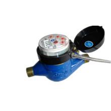 Medidor fotoeléctrico de agua de transmisión remota con cables