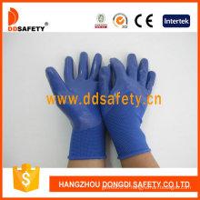 Gant de revêtement bleu nitrile 3/4-Dnn916