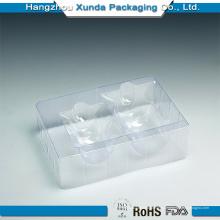 Venta al por mayor de plástico transparente Costemic embalaje