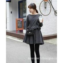 Fashion Women Girls Leather Short Pleated Mini Skirts